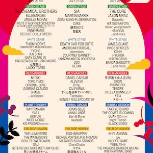 キセル「Fuji Rock Festival 2019」